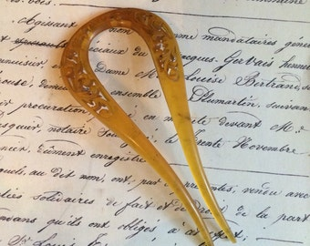 Victorian hair comb