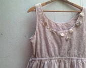 RESERVED FOR AMY fairy ecru latte beige natural eco boho gypsy romantic shabby bridesmaid dress