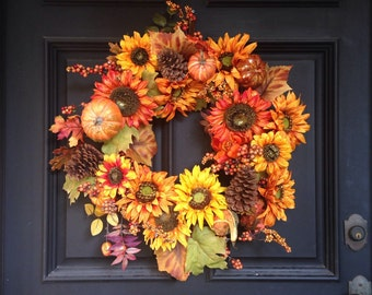 Fabulously Fall Wreath