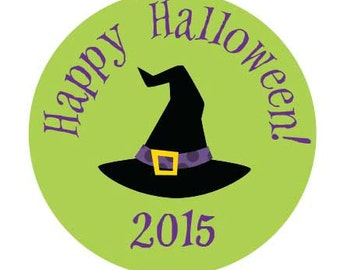 70 Halloween Gift Stickers Personalized By Lollipop Labels