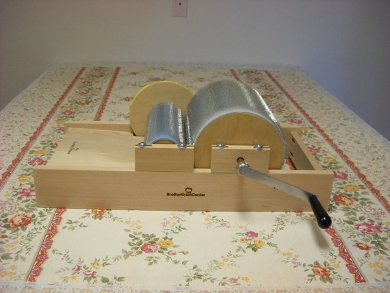 90/120tpi New Medium or Fine tooth drum carder W/Finish