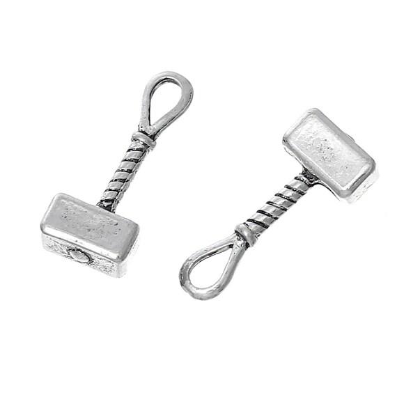 5 hammer of thor charms mjolnir hammer viking charms