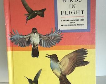 1962 Birds in flight- a nature adventure book from Arizona Highway Magazine