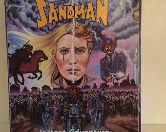 1985 The Sandman The map of Halaal instant Adventure