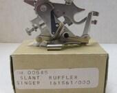 Singer Slant Ruffler Sewing Machine Attachment, Ruffler Foot, #161561