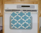Coastal Blue Kitchen Hand Towel - Fynn Coastal Blue Decorative Kitchen Towel