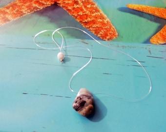 Choker neck invisible Australian Opal