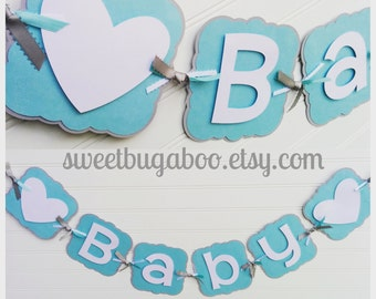Baby Shower Banner, It's A Girl banner, It's A Boy Banner, Baby Banner, Baby Shower Decorations, Pick your colors!
