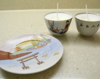 Teacup Candle - Japanese Duo