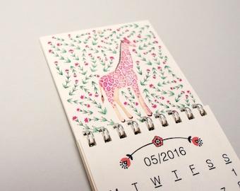 2016 Miniature Wall Calendar