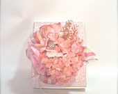 Shabby Chic Wedding Gift Box, Favors, Jewelry, Gift Cards, Mothers Day, , Bridesmaids, Handmade, Decorative Boxes, Gift Certificates, Birth