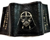 Star Wars Wallet - Trifold Wallet - Star Wars Gift - Star Wars Art - Darth Vader Wallet - leather anniversary gift for man - boyfriend