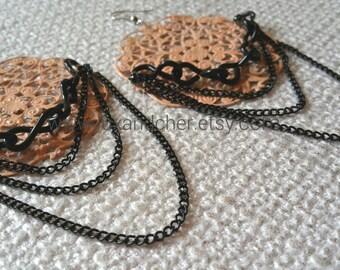 Chandelier Earrings, Summer Fashion, Statement Earrings, Popular Earrings, Big Bold Earrings, Vintage, Glamorous Earrings, Chain Earrings