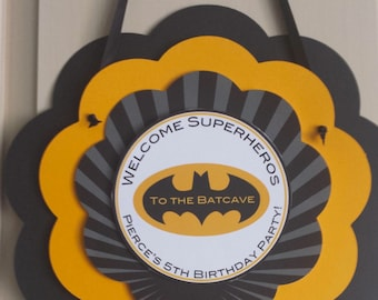Batman - Welcome Door Sign