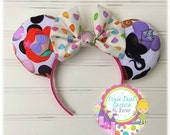 Disney Characters Mickey Ears Ariel & Ursula Mouse Ears with Seashell Bow!!