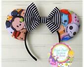 Crazy Cute Custom Disney Tsum Tsum Mouse Ears!!