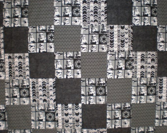 Star Wars Stormtrooper Patchwork  Quilt