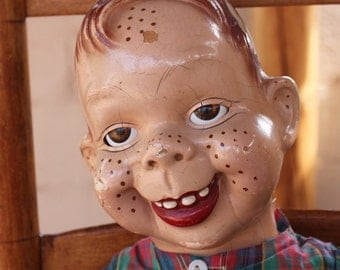large old Howdy Doody doll