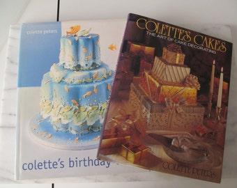 Wedding Cake Decorating Books Set of Four