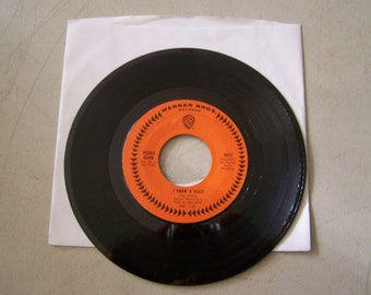 """Vintage 1960's 45 rpm vinyl Record """"I Know A Place"""" By Petula Clark"""