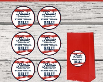 Baseball Party. Baseball Thank You Tags. Baseball Party Favor Tags. Baseball Party Printable. Baseball Party Supplies DIY party supplies