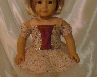Cooper and Lace Dance Costume for an 18 inch doll B99