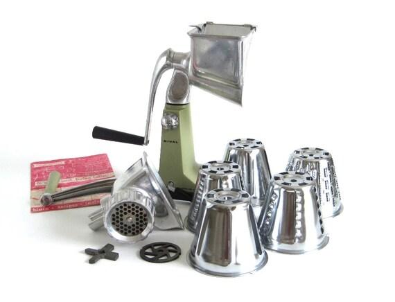 Rival Grind O Mat 395 Shred O Mat Kitcheneer 1960s Kitchen Gadgets