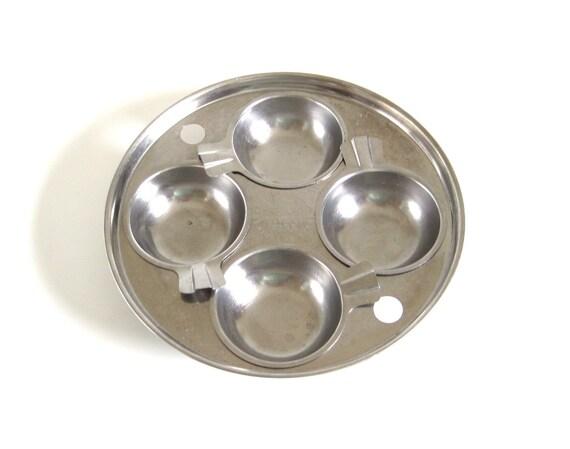 Revere Ware Egg Poacher Insert 4 Cups For 8 Quot Skillet Fry