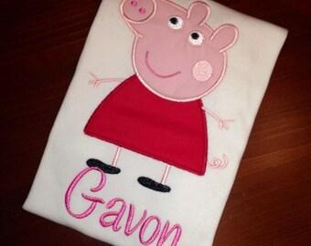 Custom Pig friend shirt