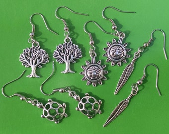 SALE Collection of Nature Earrings