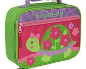 Personalized Girl Lunch Box Stephen Joseph Turtle