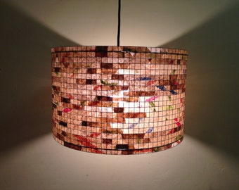 SALE 20% OFF - Chandelier Lighting Pendant Light Lampada Coffee Filter Art Lamp Lampshade