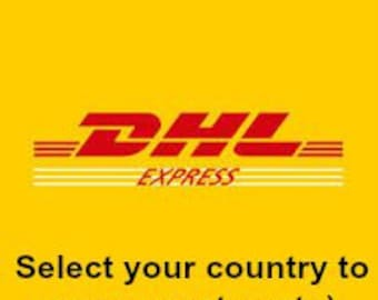 DHL EXPRESS Service for your Order - International ONLY