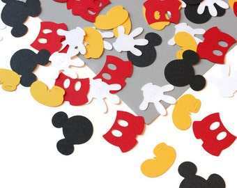 Mickey Mouse confetti - you select the colors