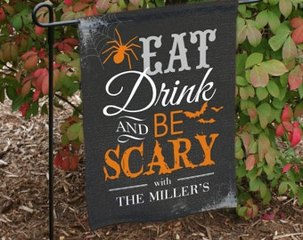 Halloween Garden Flag (double sided printing) -gfy83078712DS