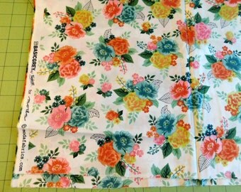 Moda Fresh Cut Flowers 27 inches x 44 inches Sewing Quilting Crafting  Sale Destash Stock Up