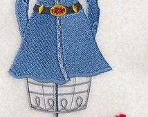 Yee Haw Dress Form Embroidered Flour Sack Hand/Dish Towel
