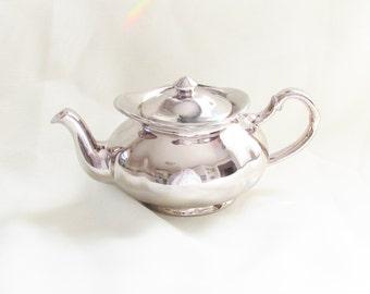 Vintage Silver Luster Teapot Price Kensington England 1960s