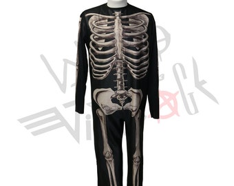 Donnie Darko Costume size Small Skeleton Suit Halloween Cosplay