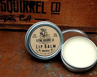 Natural Lip Balm, Unscented 1 oz. - Item# LIP_UNSCT_01