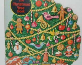 Golden Press Vintage Book The Christmas Tree Book 1966