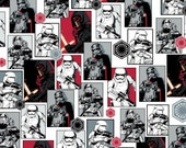 Star Wars 7 The Force Awakens - Multi Star Wars The Dark Side from Camelot Cottons