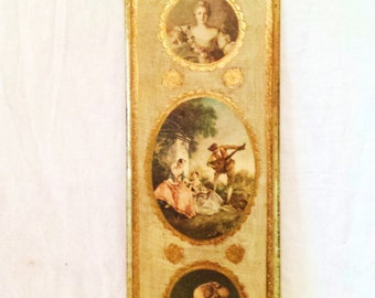 Vintage Florentine Decorative Wall Art
