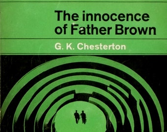 vintage 1960s paperback The Innocence of Father Brown by G. K. Chesterton
