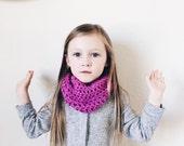 SALE Toddler Infinity Scarf Fuschia