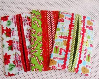 Festive Pocket/Handbag Tissue Holders