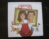 Reserved for Mallory-Vinyl Record Album-The Carpenters An Old Fashioned Christmas 1984-Christmas Classics-Christmas Music