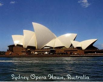 Sydney Opera House, Australia Postcard x10