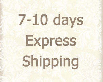7-10 days Express Mail /  Urgent Shipping for Customers in US and Canada / Fast