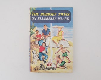 The Bobbsey Twins on Blueberry Island Book, Laura Lee Hope, Book Number 10
